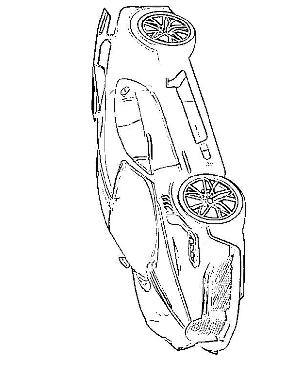 colouring page Bugatti Divo   coloringpage.ca