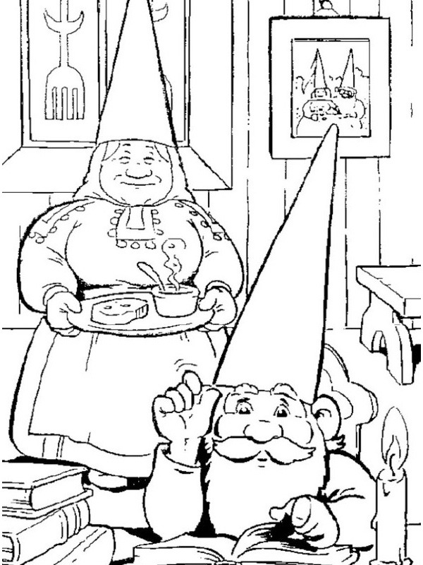 David the Gnome and lisa