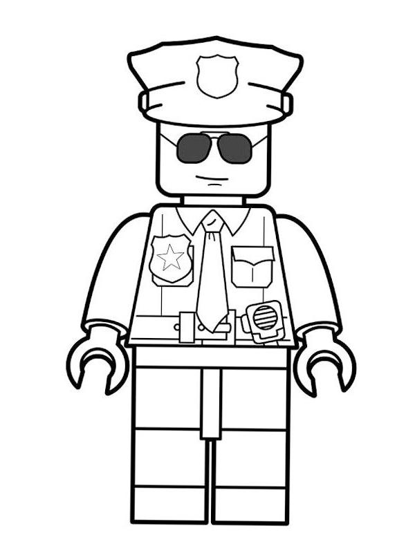 - Colouring Page Lego Police Coloringpage.ca